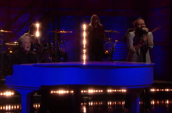 "Brian Wilson ""Runaway Dancer"" (live on 'Conan')"