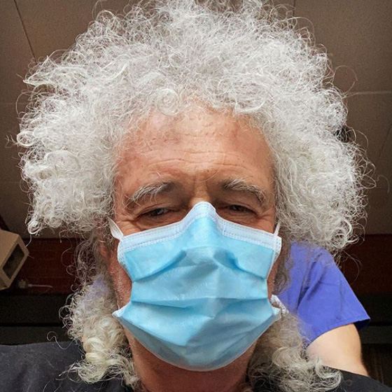 Brian May Hospitalized After Ripping His Ass from 'Over-Enthusiastic Gardening'