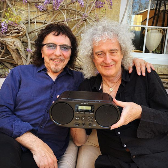Brian May Says 'There's a Chance' New Music with Tony Iommi Will See Release