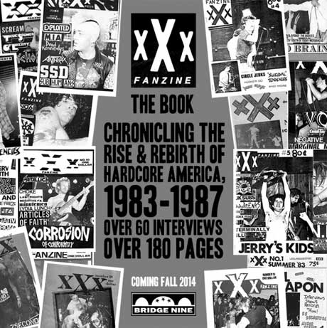 Bridge 9 Celebrates 'xXx Fanzine' with New Book Featuring Ian MacKaye, Henry Rollins, Keith Morris