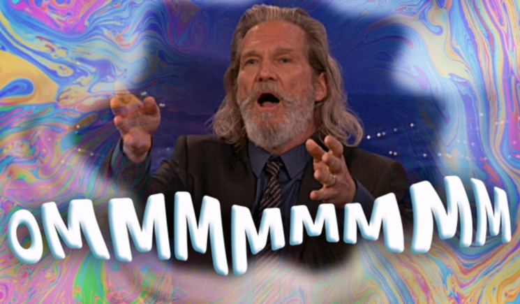 Jeff Bridges Omming Session / 'Someone Else' (live on 'Conan') (ft. Slash)