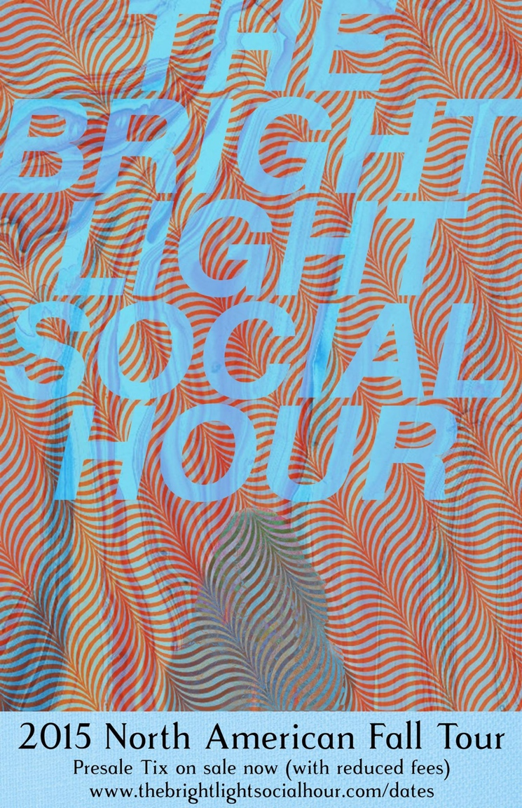 The Bright Light Social Hour Book North American Fall Tour