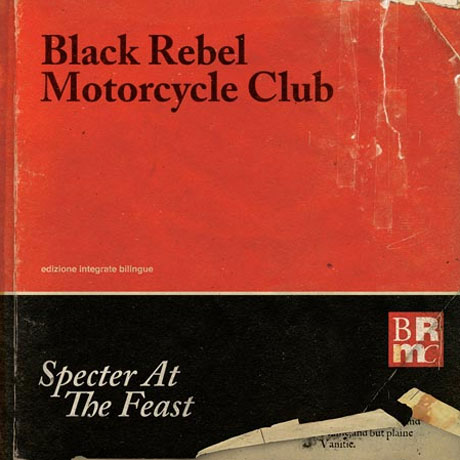 Black Rebel Motorcycle Club Detail 'Specter at the Feast'