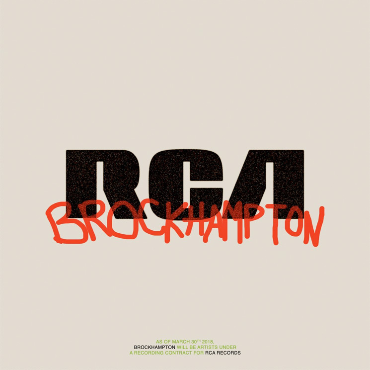 Brockhampton Sign to RCA