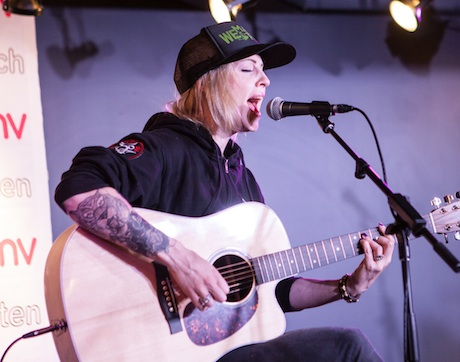 Brody Dalle HMV Underground, Toronto ON, May 7