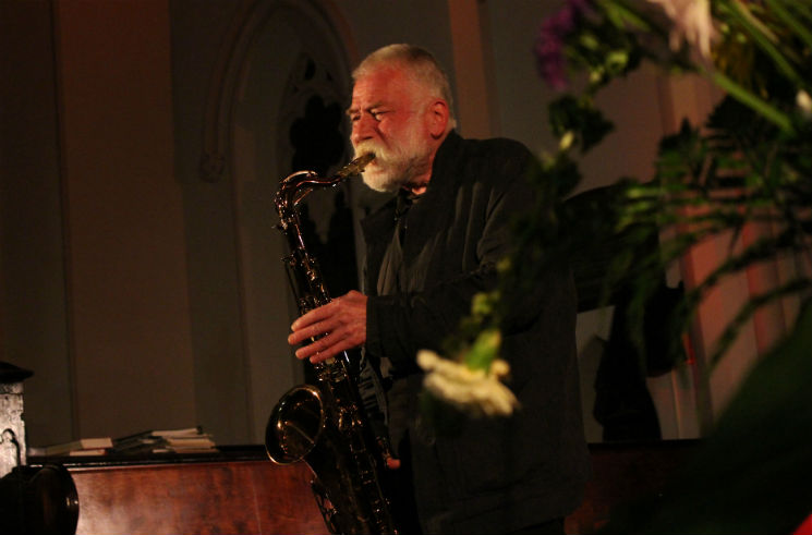 Peter Brötzmann Fort Massey United Church, Halifax NS, May 22