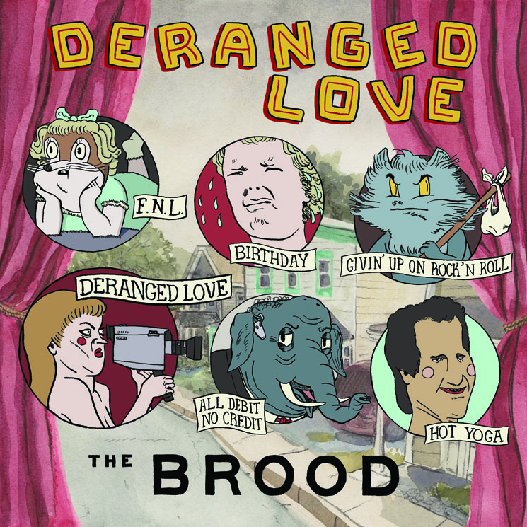 The Brood 'Deranged Love' (EP stream)