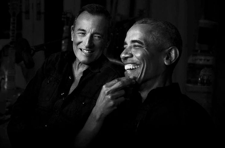 Bruce Springsteen and Barack Obama Are Doing a Podcast