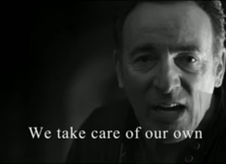 """Bruce Springsteen """"We Take Care of Our Own"""" (video)"""