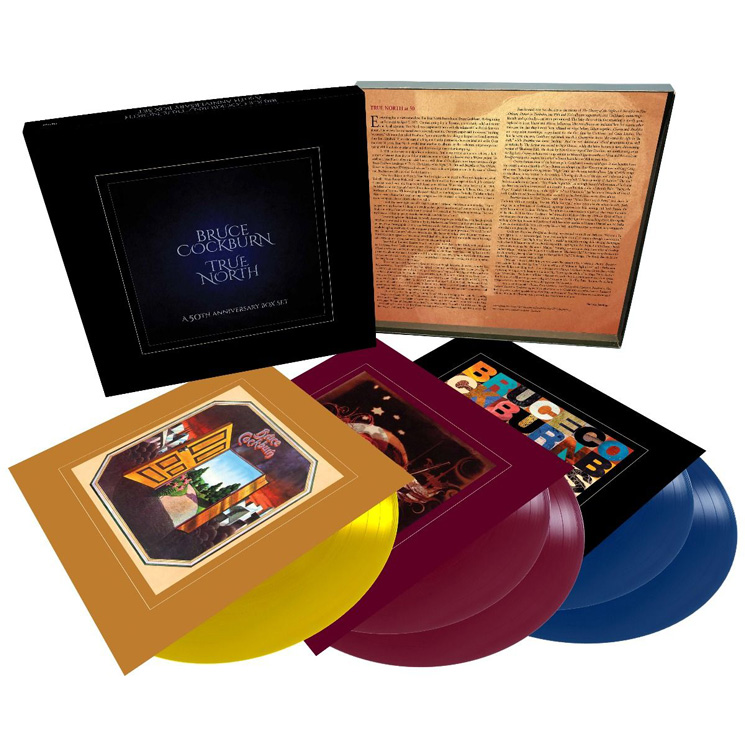 Bruce Cockburn Readies 50th Anniversary Vinyl Box Set