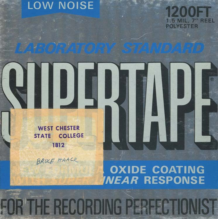 Bruce Haack Preservation Tapes