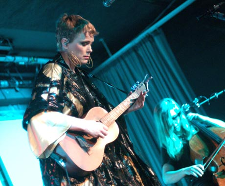 Ane Brun / Linnea Olsson Electric Owl Social Club, Vancouver BC, February 17