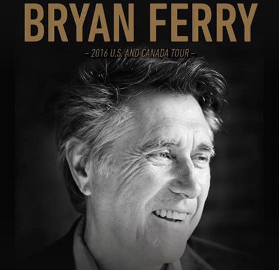 Bryan Ferry Takes 'Avonmore' on North American Tour, Plays Toronto