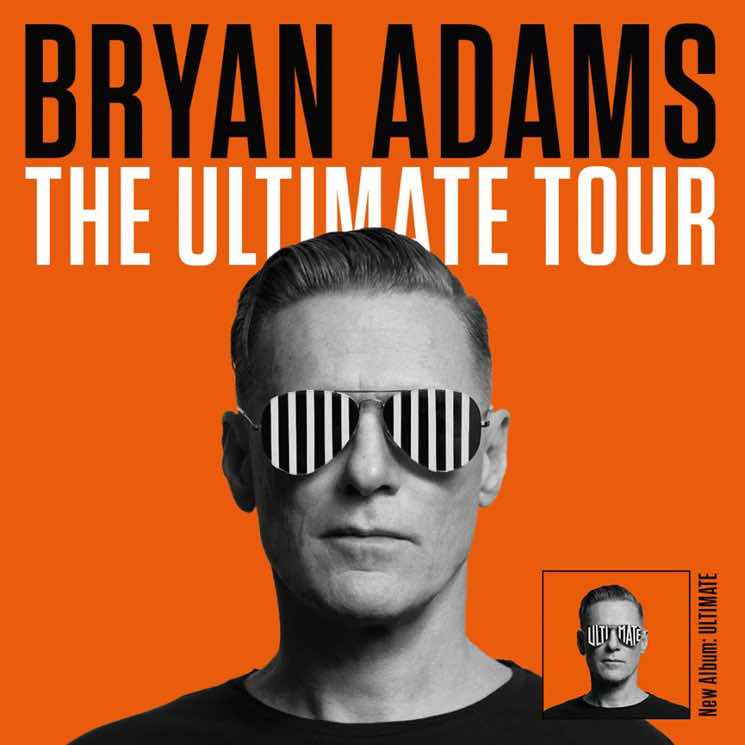 "Bryan Adams Brings ""The Ultimate Tour"" Across Canada"