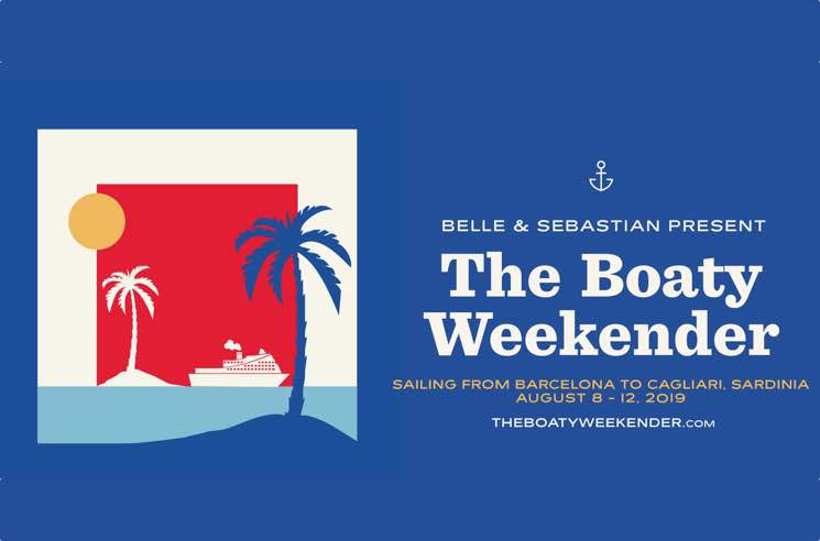 "​Belle and Sebastian Announce ""Boaty Weekender"" Festival Cruise"