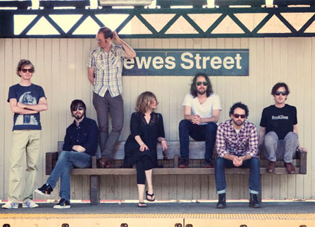 "Broken Social Scene ""The Good Times Are Killing Me"" (ft. Modest Mouse's Isaac Brock) (live video)"