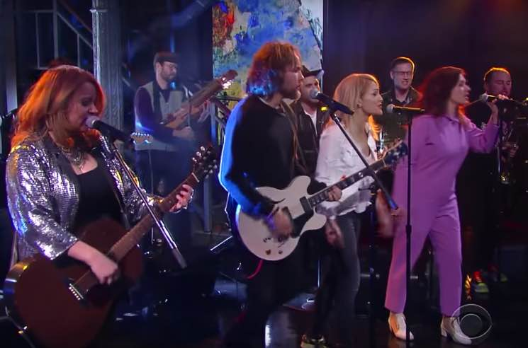 Watch Broken Social Scene Reunite for 'Halfway Home' on 'The Late Show with Stephen Colbert'