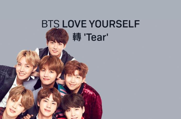 ​K-Pop Stars BTS Score Billboard No. 1 with 'Love Yourself: Tear'
