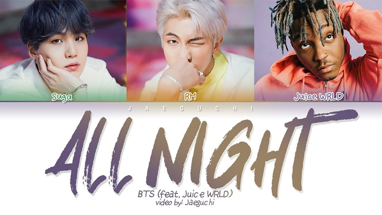 BTS Join Forces with Juice WRLD for 'All Night'