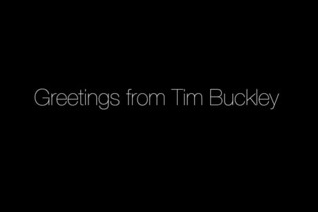 Jeff Buckley 'Greetings from Tim Buckley' (trailer)