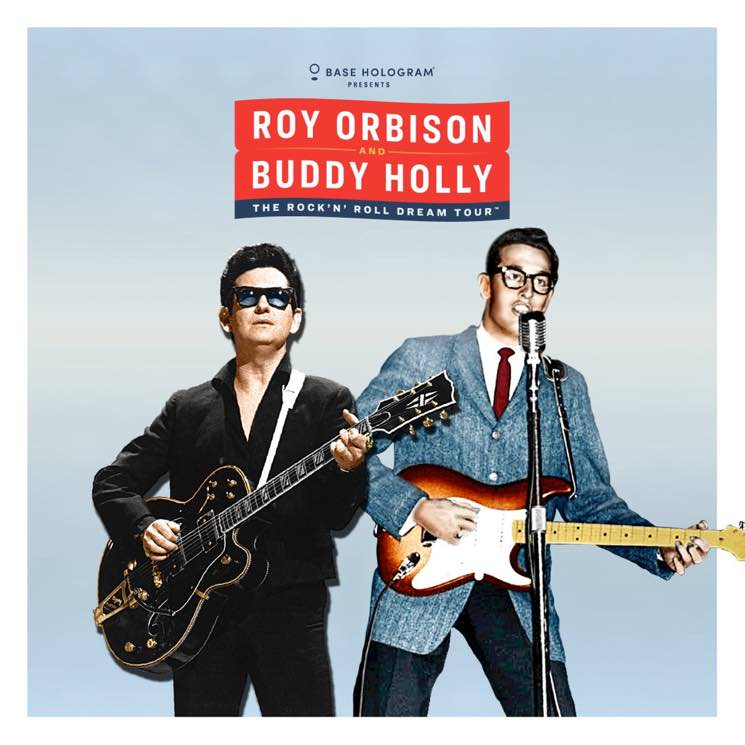 ​Roy Orbison and Buddy Holly Holograms Heading Out on Joint North American Tour