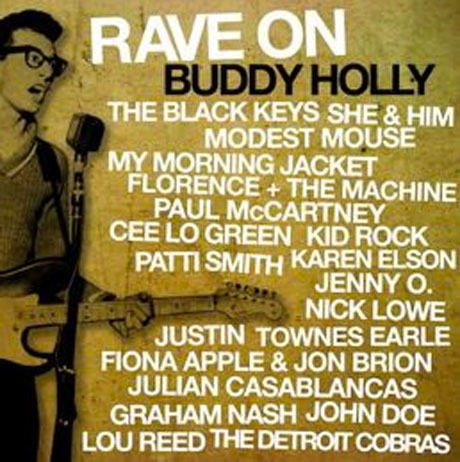 Buddy Holly Tribute Ropes In Paul McCartney, Black Keys, Julian Casablancas, Lou Reed