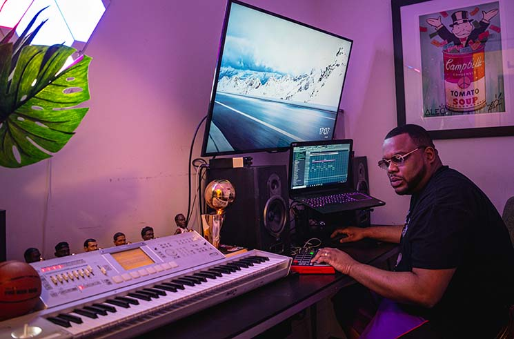 Burd & Keyz Honours His Partner's Legacy and Keeps an Eye on Toronto Up-and-Comers While Building His Producer Buzz