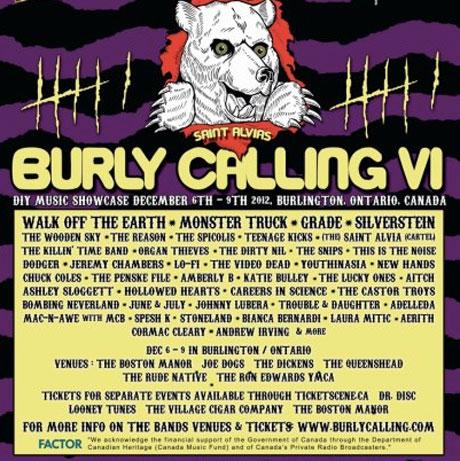 Burlington's Burly Calling Fest Brings Out Saint Alvia, Grade, the Wooden Sky, Silverstein