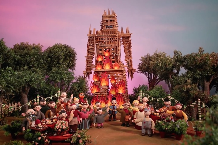 """Radiohead Accused of Copyright Breach over """"Burn the Witch"""" Video"""