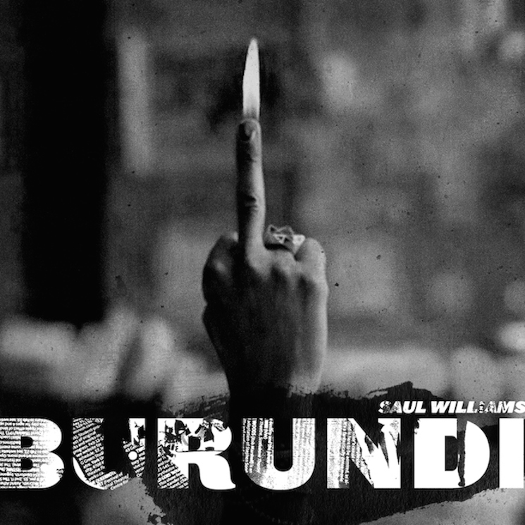 "Saul Williams ""Burundi"" (ft. Warpaint's Emily Kokal)"