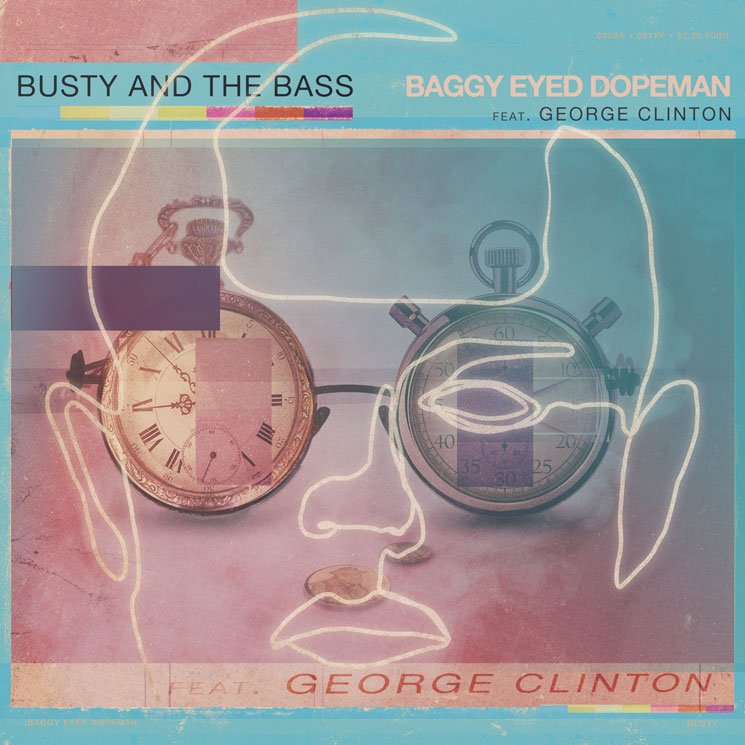 "Busty and the Bass Team with George Clinton for ""Baggy Eyed Dopeman"""
