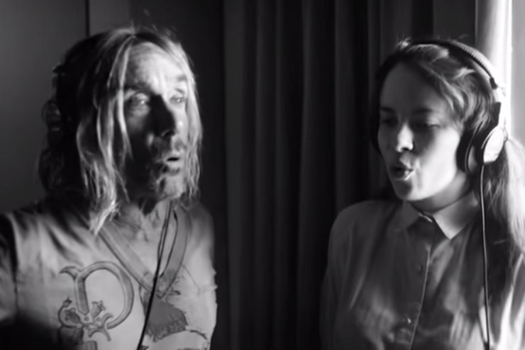 "Le Butcherettes ""La Uva"" (ft. Iggy Pop) (video)"