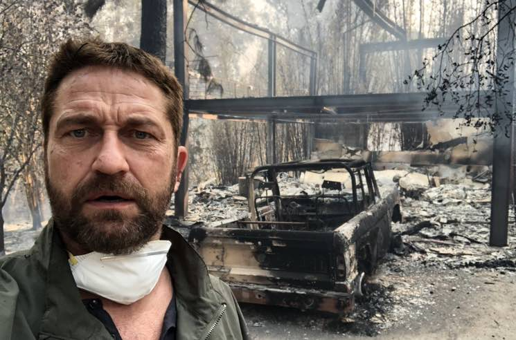 Neil Young, Gerard Butler, Miley Cyrus Lose Homes to California Wildfires