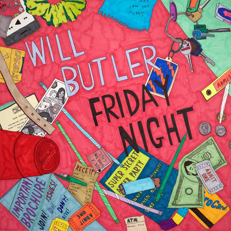 Will Butler Announces 'Friday Night' Live Album
