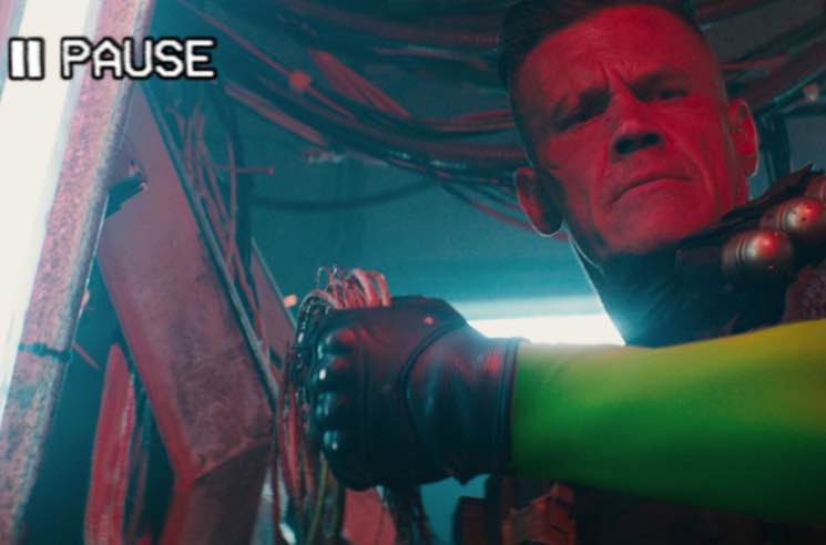 Check Out Josh Brolin as Cable in 'Deadpool 2' Trailer