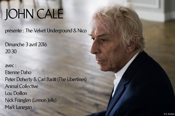 John Cale Brings Out Animal Collective, Libertines Members for 'Velvet Underground & Nico' Performance in Paris