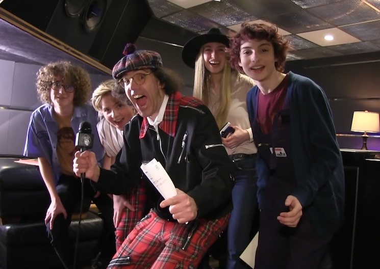 Watch Nardwuar Chat with Calpurnia