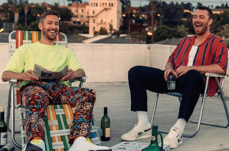 "​Calvin Harris and Sam Smith Join Forces for ""Promises"""