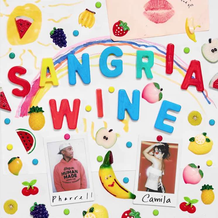 "​Camila Cabello and Pharrell Team Up for ""Sangria Wine"""