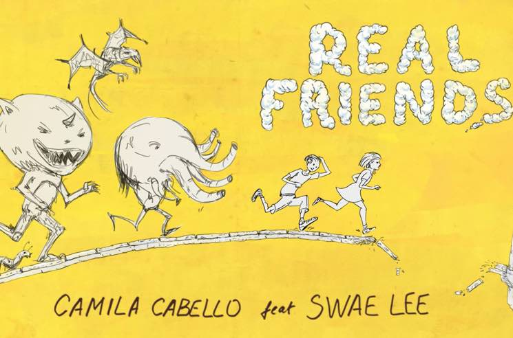 "Camila Cabello and Swae Lee Buddy Up on ""Real Friends"""
