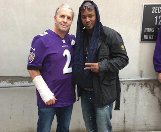 "Cam'ron Made a New Rap Album with Bret ""The Hitman"" Hart"