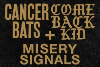 Cancer Bats and Comeback Kid Expand Canadian Tour, Add West Coast Dates
