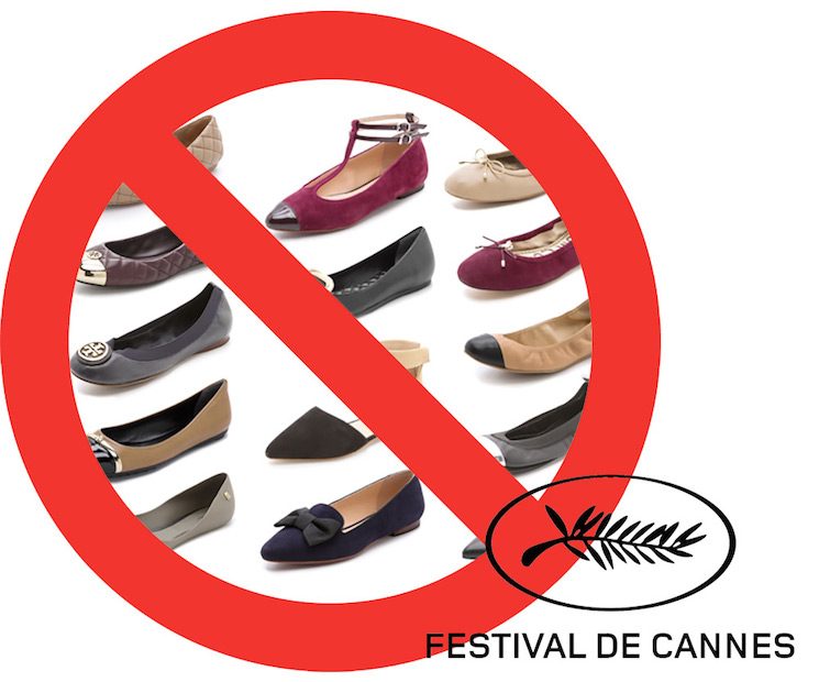 Cannes Denies Entry for Women Wearing Flat Shoes