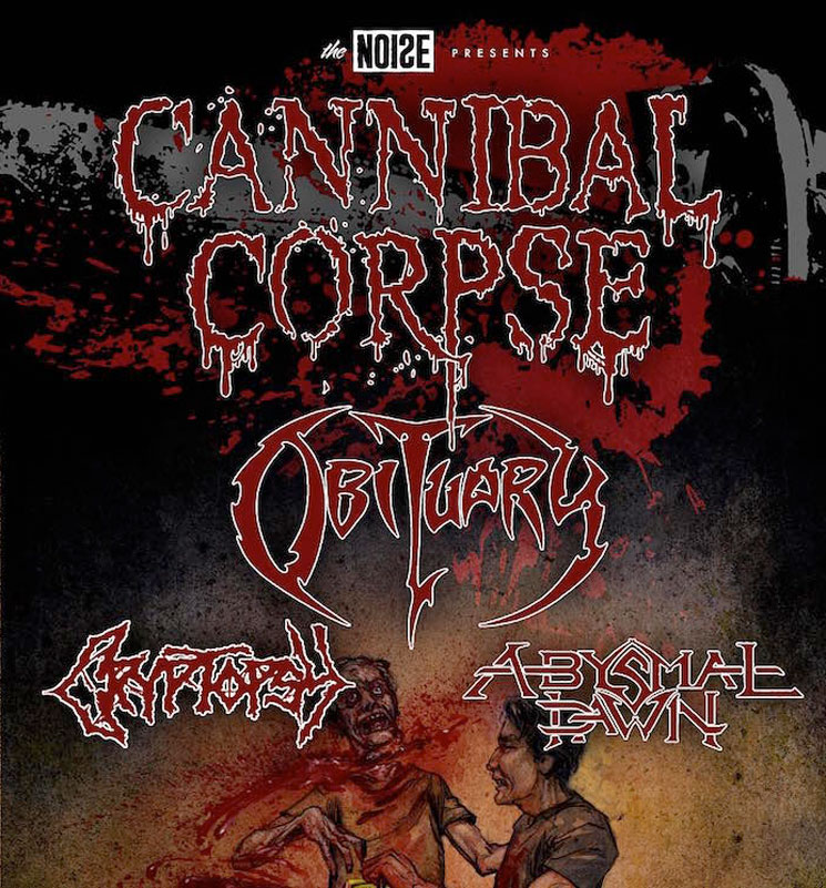 Cannibal Corpse Announce North American Tour with Obituary, Cryptopsy and Abysmal Dawn