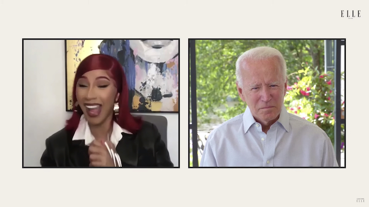 Watch Cardi B Interview Joe Biden About Police Brutality, COVID-19 and American Healthcare