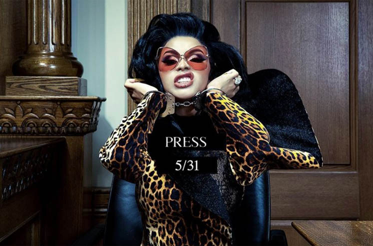 ​Cardi B to Release New Single 'Press' This Week