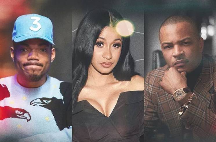 ​Cardi B, Chance the Rapper and T.I. Confirmed as Judges on Netflix Talent Show 'Rhythm + Flow'