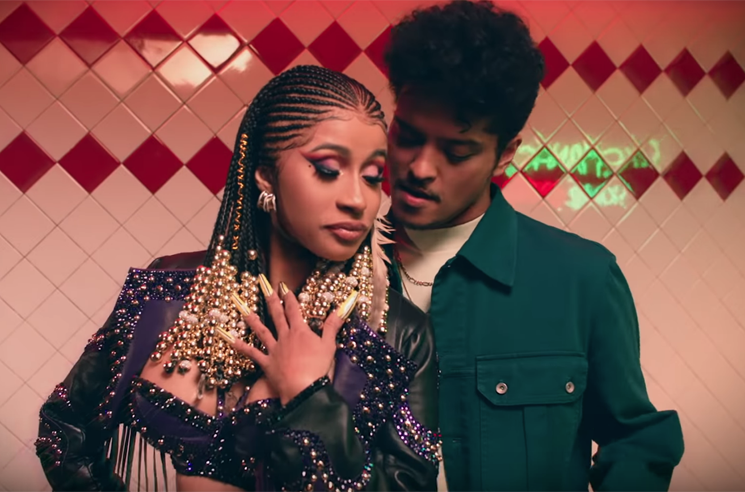 ​Cardi B and Bruno Mars Get It On at a Taco Joint in 'Please Me' Video