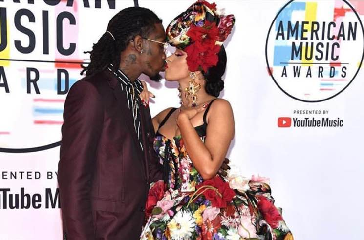 ​Cardi B and Offset Bought Their Daughter a $100,000 'Word Party' Chain for Her 1st Birthday