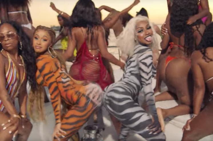 ​Cardi B and City Girls Shake Their Butts in 'Twerk' Video